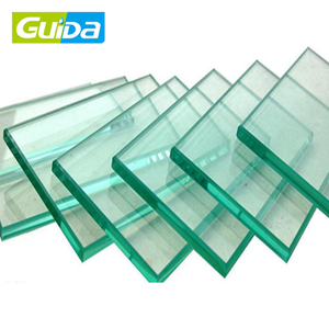 Ningbo shower room Tempered safety glass 12mm thick toughened glass