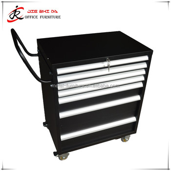 2017 new design OEM custom metal tool cabinet on wheels with drawers