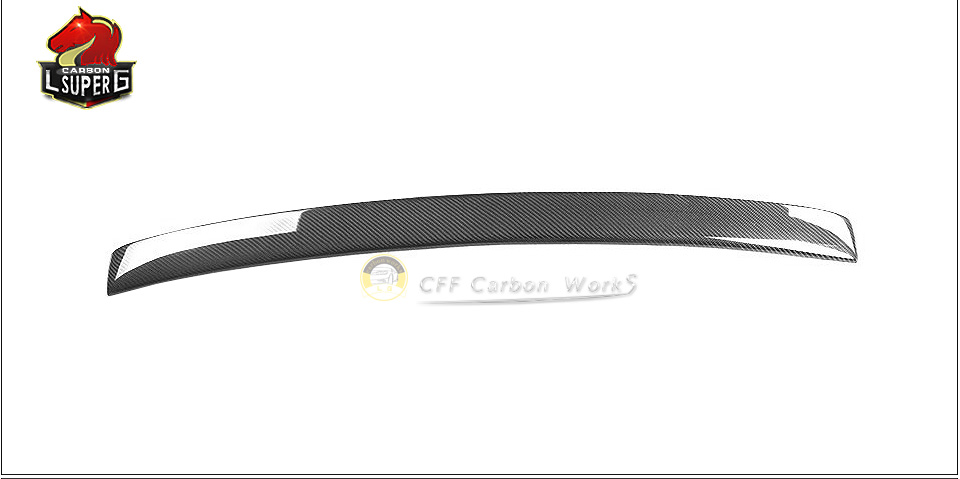 E-class W207 carbon fiber Roof spoiler For B enz 2010 - 2012