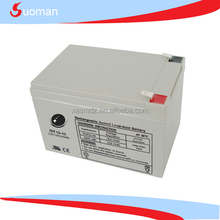 12v 12ah UPS rechargeable sealed lead acid battery