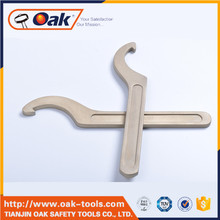 2017 hook spanner with nose fixed hook spanner with nose non adjustable wrenches with low price