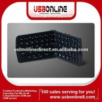 Folding design Bluetooth wireless keyboard for iPad 2, iPhone, Smartphones, HTPC, PC, and PS3 Game Player, Media player tv box