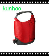 fashion popular red wine tote bag wholesale