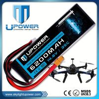 Upower rc model car helicopter battery lipo battery with MSDS UN38.3