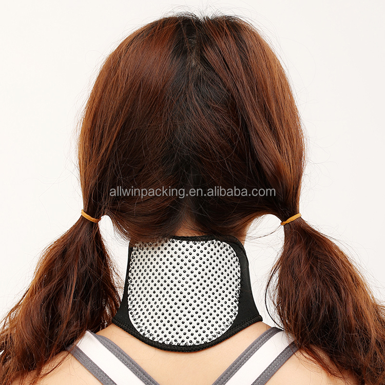 AWI-NP Therapy Neck Support Protection Spontaneous tourmaline Heating Headache Belt Neck Massager