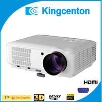 2017 best low cost laser edcation projector 2600 Lumens 1024*768p HDMI led video PC projector home movie hdmi projector