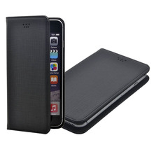 Universal Wallet Style Flip Leather Mobile Phone Case For Up To 5.5 Inches Display