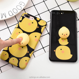 2017 unique gift ideas squishy mobile phone case 3d squishy phone case cover for smartphones