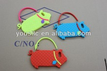[hot] Good Quality 3D Pig Silicone Case for iphone 5s 5