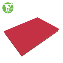 New type red moisture resistant PE mdf uhmwpe sheet board