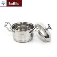 Different Size Round Shape Kitchenware Modern Cookware Sets