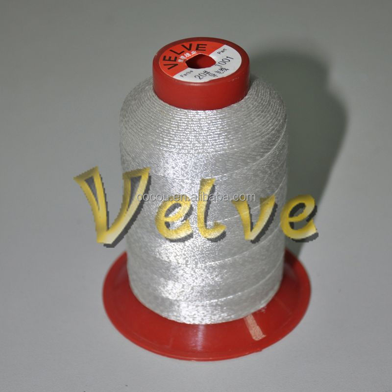 2015 hot sale silver coating conductive thread anti-static function