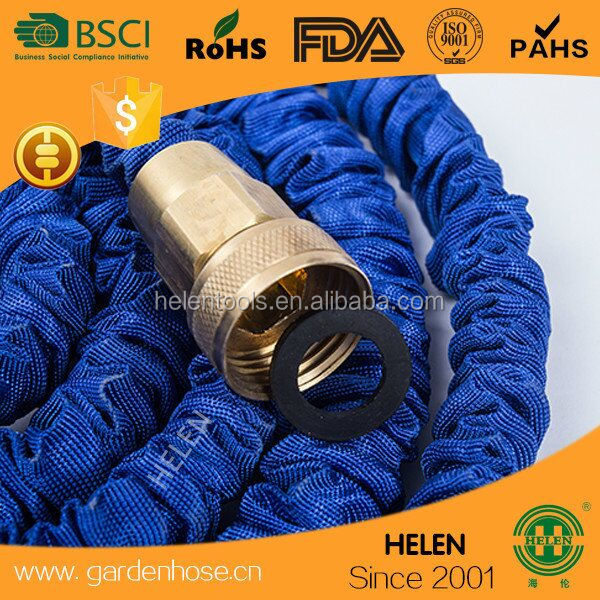 AMAZING BARGAIN 100Ft BLUE Stretch Magic Hose for gardening for car washes or window cleaning EVEN cleaning the DOG as a gift