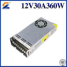 Single Output Ultra Slim LED Power Supply 12V 30A 360W Switching Power Supply or Transformer