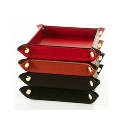 China supplier custom your own leather tray new design popular