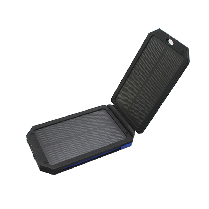 Green energy 5000mAh universal Solar power pack Charger with charging cable