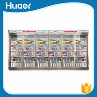 Vertical freezer 6 doors commercial refrigerator commercial refrigerator showcase