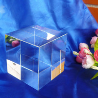 Factory Wholesale K9 Blank Crystal Glass Block Cube