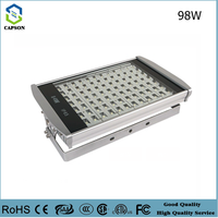 High light flood light IP65 Dust and waterproof led tunnel light 98W