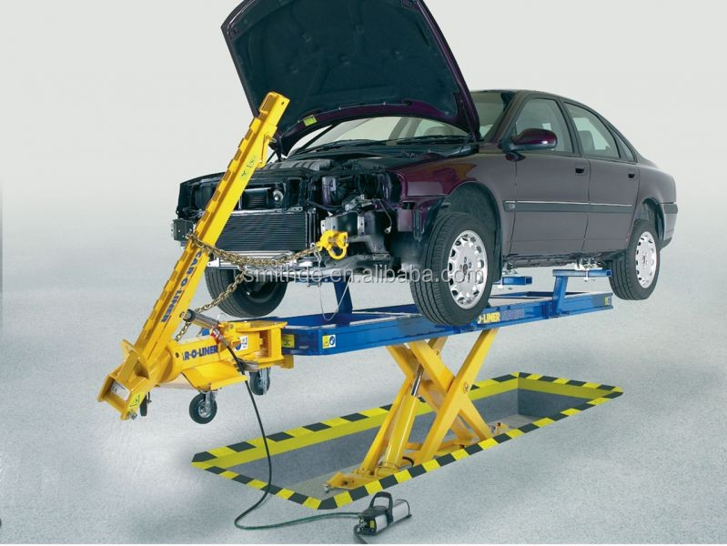 car frame machine/ car bench floor mounted and easy to use