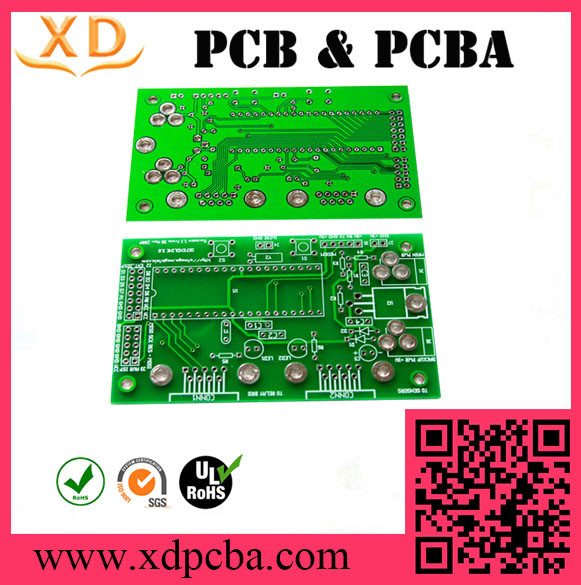 Double-sided PCB with 2 oz copper thickness