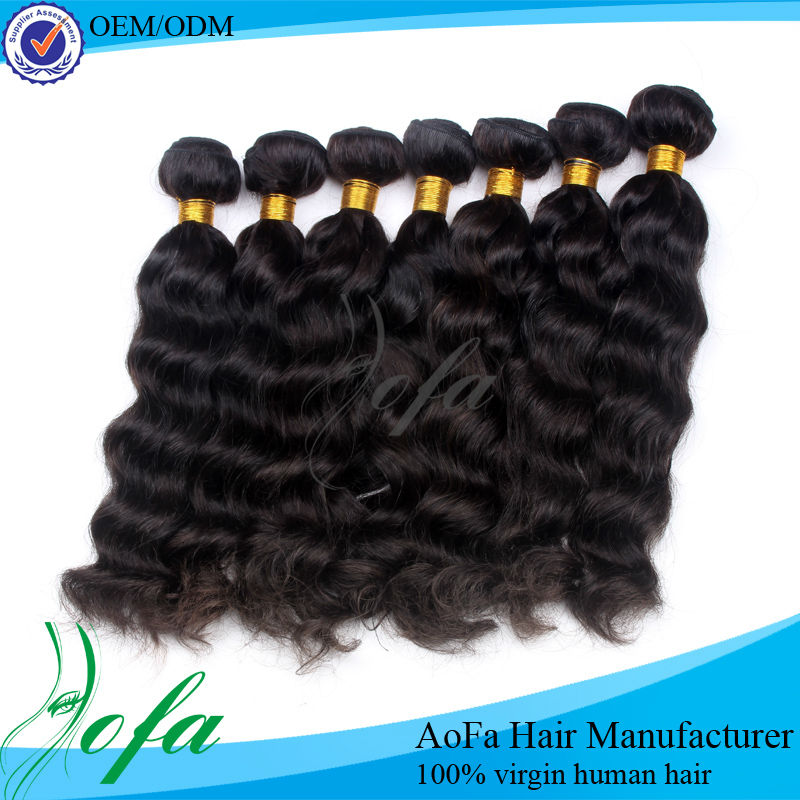Wholesale pure 100% raw virgin indian hair