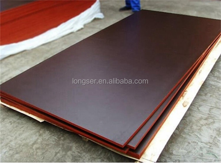 China manufacturer top quality brown film faced plywood