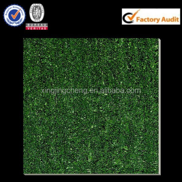 bright green non slip polished porcelain floor tile