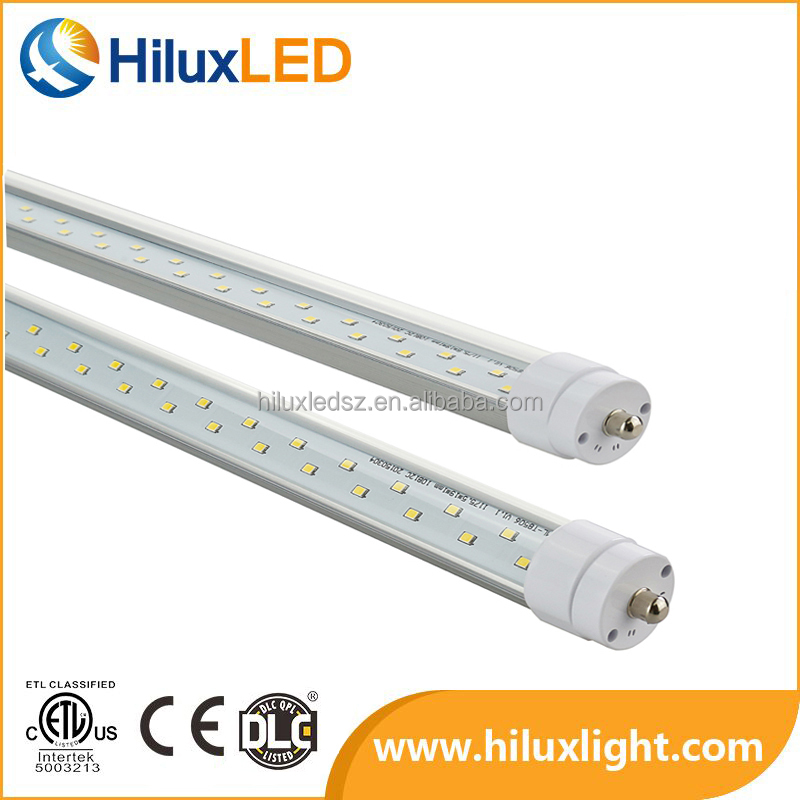 cUL 50W 8 ft Single Pin (FA8) AC100-277V -20-40 Degree Led Tube Lighting T8 High Power Led for tire company