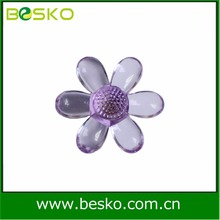 Kids furniture handle purple transparent abs plastic handle