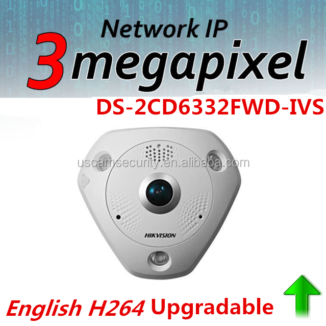 Hikvision 3.0 MP IP Camera Tester DS-2CD6332FWD-IVS Virtual PTZ Outdoor Dome PTZ IP Camera