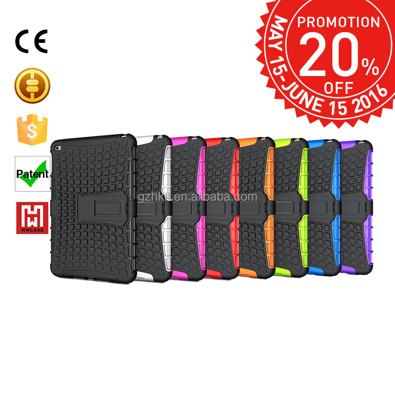 Promotions month,High quality colorful cover case for ipad mini 4 phone case in china
