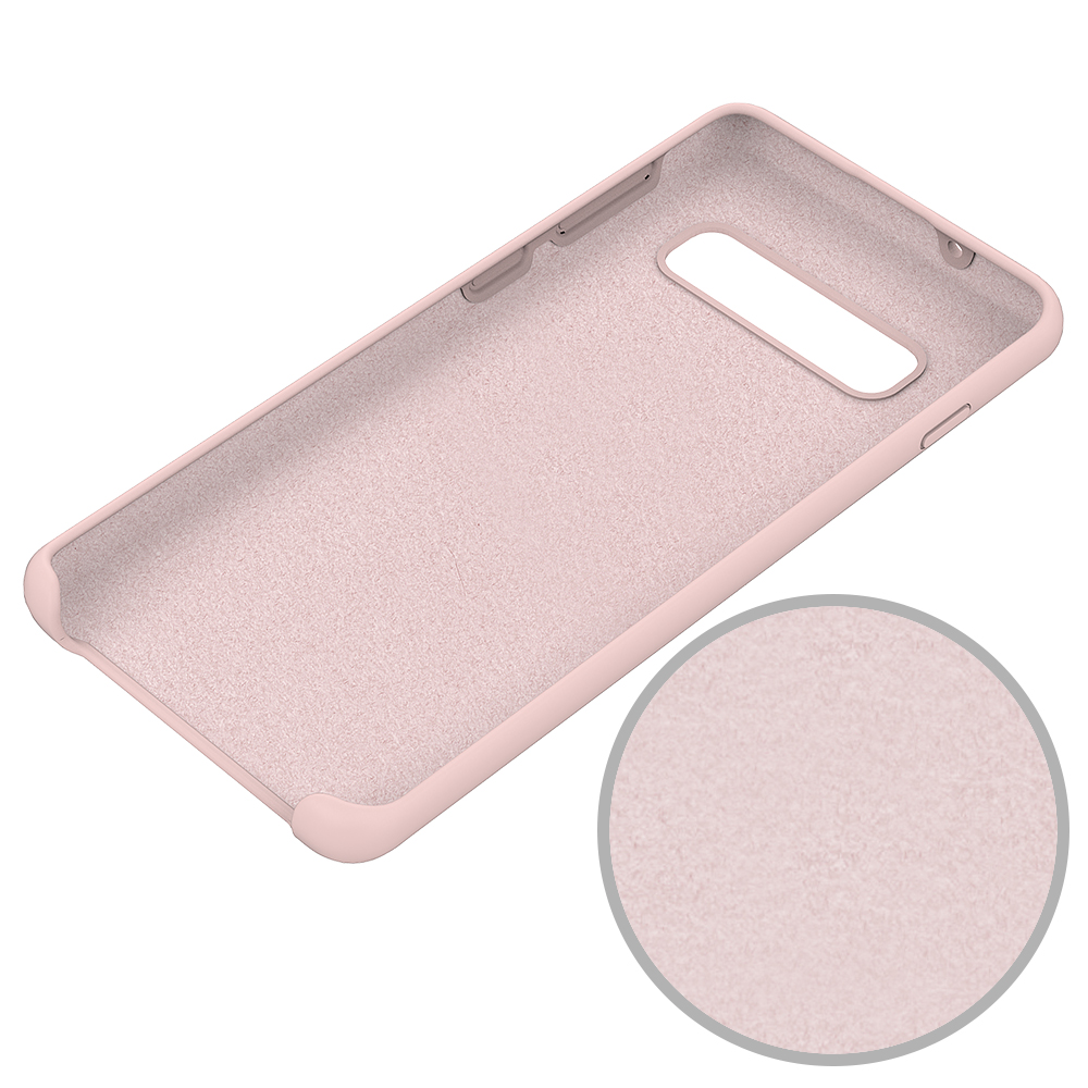 Colorful Solid Silicone Shockproof <strong>Case</strong> Protective Cover <strong>Case</strong> for Samsung Galaxy S10