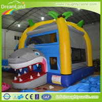 Shark inflatable bounce slide/inflatable animal slide/inflatable shark bouncy house