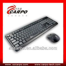 2013 new products on market 2.4GHz Wireless Keyboard and Mouse Combo for PC Laptop H608