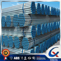 Thin Wall 6 inch GI Galvanized Steel Pipe / Pre Galvanized Pipe For Structure