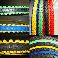 high quality bike tyre HH-320 for off road bike,700*28c bike black tire/bicycle tire yellow green/colored bicycle tires