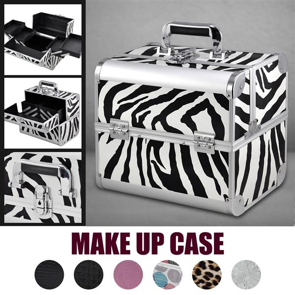 All Beauty Box Make up Vanity Case Cosmetic Bag Nail Tech Hair Salon Jewelry