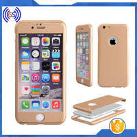 "Stock Hybrid Protect Screen Tempered Glass Full Cover For IPHONE 6/6S (4.7"") Golden"
