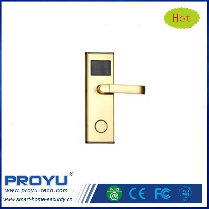 CE/FCC/ROHS Access Control RFID Hotel Room Smart Key Card Door Lock System