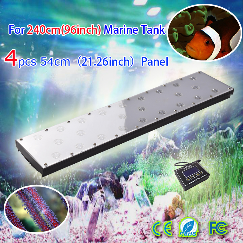 No fan no noise led marine aquarium light fish pond designs weather simulation sunrise sunsun