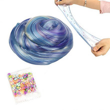 DIY Slime Crystal Soft Expanded Clay Stress Relief Toys Non-toxic Mud for Kids