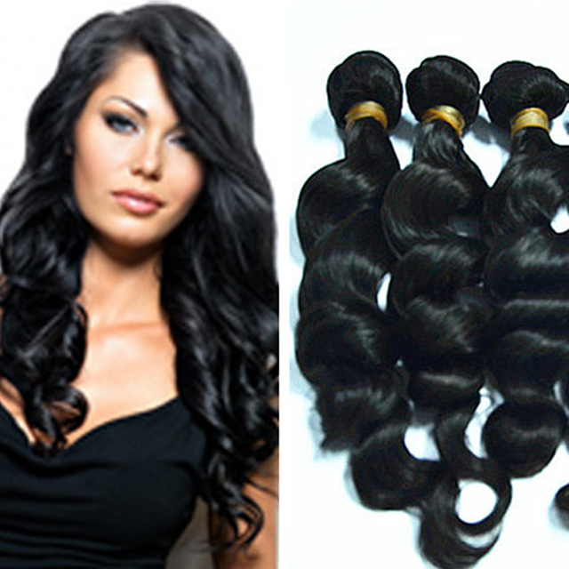 grade 10A virgin unprocessed human hair extension outre stretch braided hair