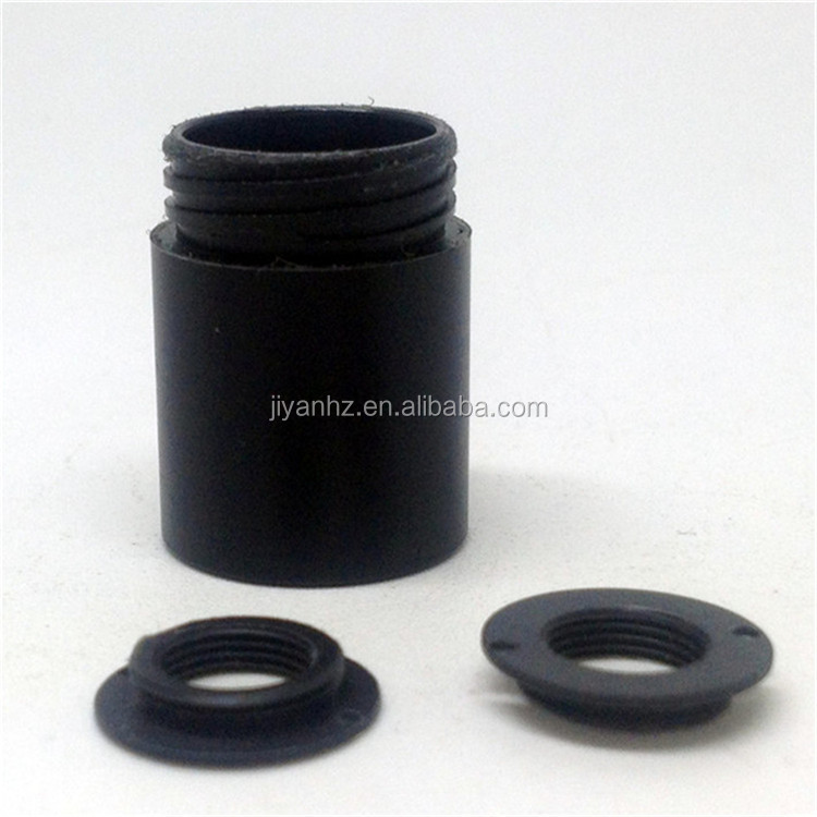 China black pillar nylon plastic spacer ring high precision OEM service with favorable price