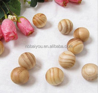 Different size for your choice air freshner scented exotic wood beads