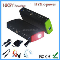 high capacity portable auto car jump stater,multi function jump starter,power bank car jump starter with 13800 mAh