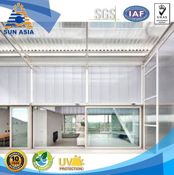 uv polycarbonate clear plastic roofing polycarbonate sheet 4x8