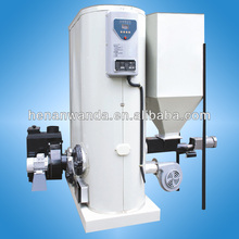 60KW small size biomass gasifier hot water boiler for home
