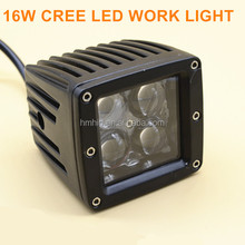2016 New 4x4 off road truck ATV UTV 10w led work light motorcycle headlight 4D LED work light