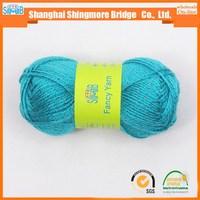 china fancy yarn supplier shanghai smb cheap sales good quality glitter knitting yarn with cheap price